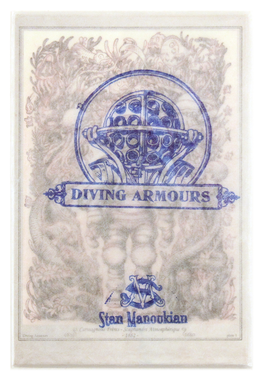 Diving Armours Postcards, Stan Manoukian