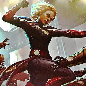 Captain Marvel Art Panel & Book Signing