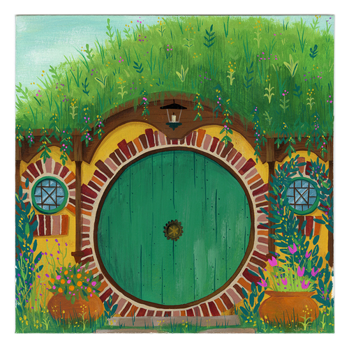 Bilbo's Door, Jennifer Taylor
