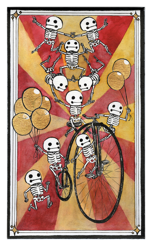 Skelemen on Parade, Kelly Yamagishi