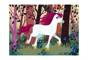 Uni the Unicorn: pg 02-03 (print), Brigette Barrager