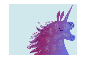 Uni the Unicorn: pg 16-17  (print), Brigette Barrager