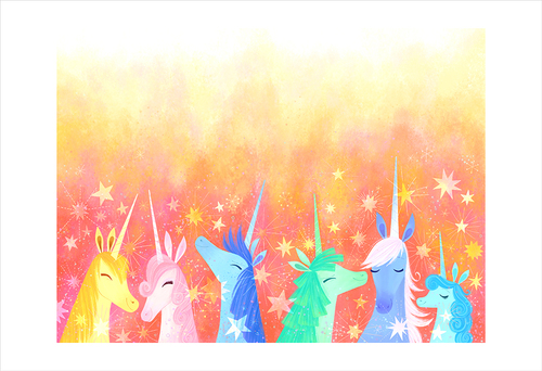 Uni the Unicorn and the Dream Come True: pg 30-31 (print), Brigette Barrager