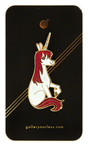 Brigette Barrager Uni the Unicorn - Nucleus Enamel Pin, Brigette Barrager