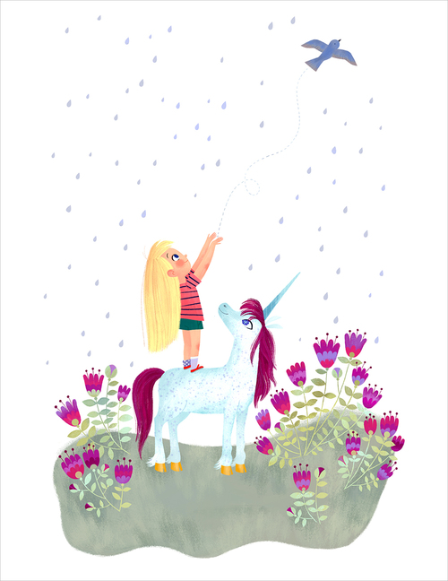 Uni the Unicorn and the Dream Come True: pg 25 (print), Brigette Barrager