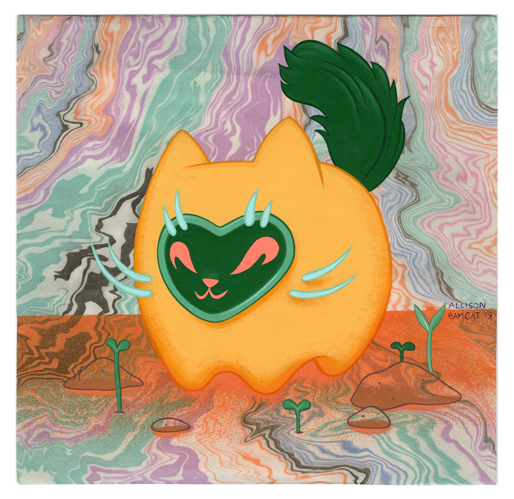Untitled 1 (orange), Allison Bamcat