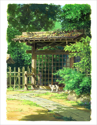 I'm Taking a Walk - Summer (print), Yohichi Nishikawa