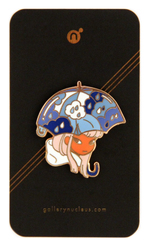Monsoon Meyoco Art - Nucleus Enamel Pin, Meyoco