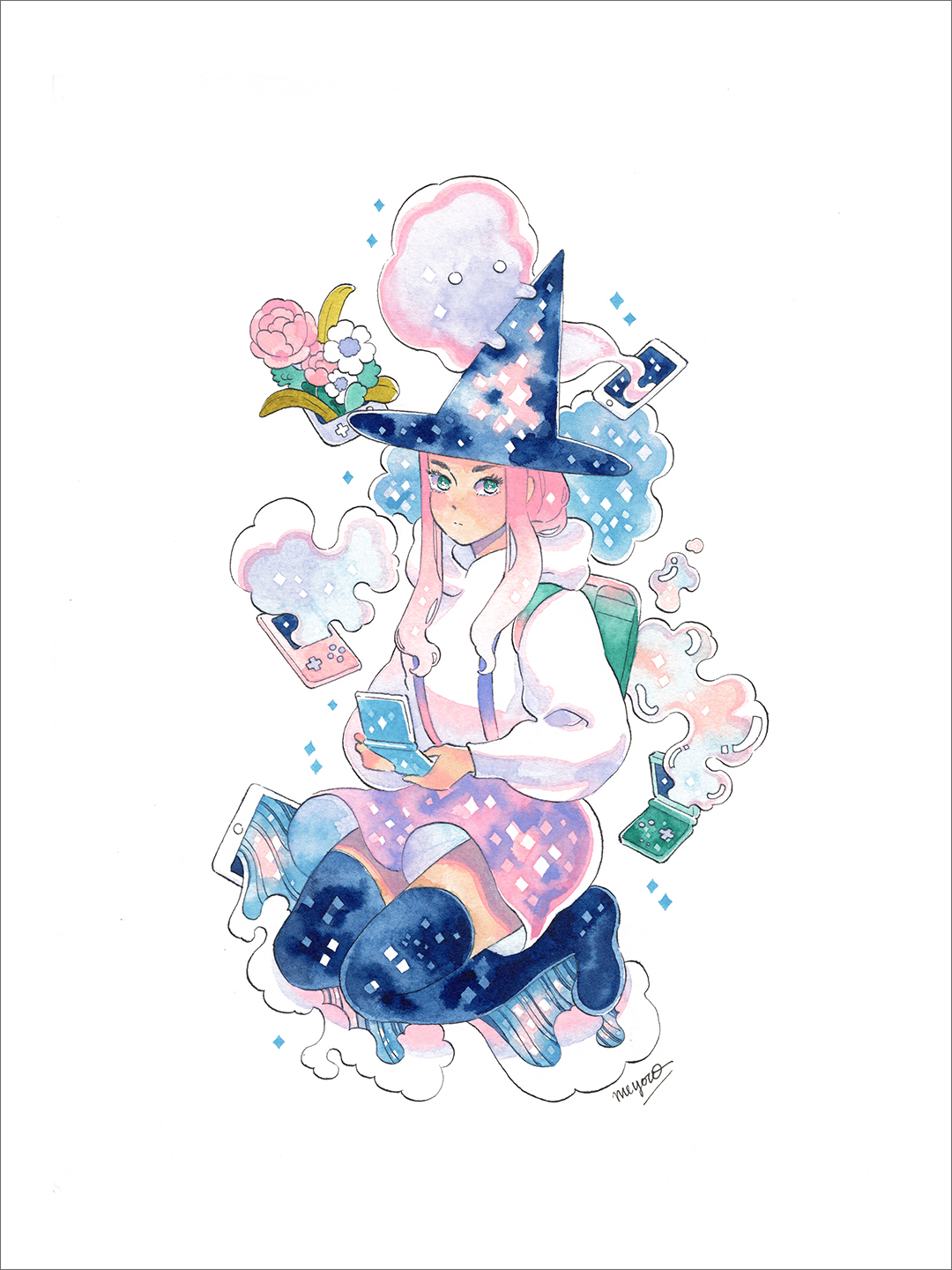 Witch (print), Meyoco