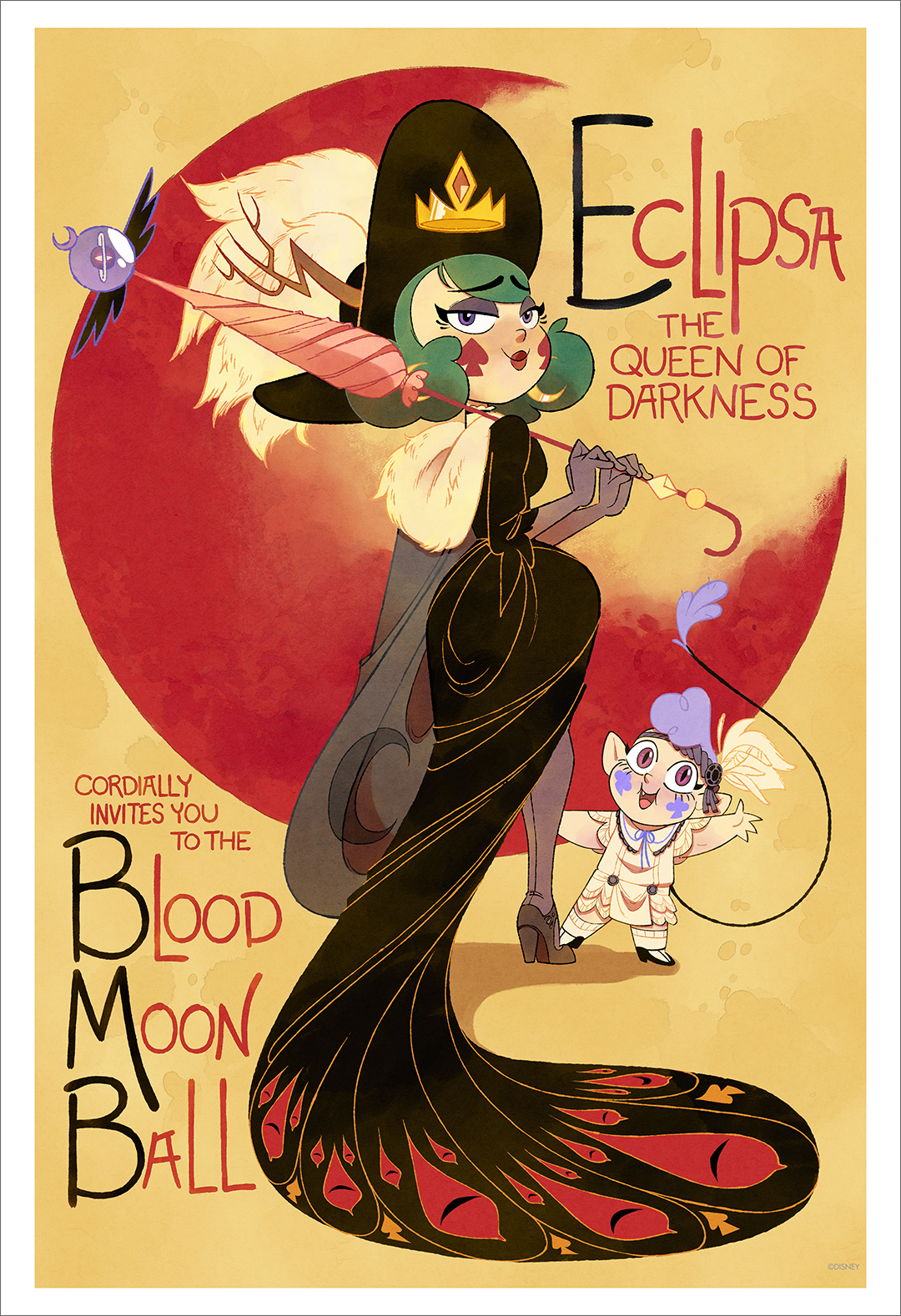 Eclipsa's Invitation (print), Sabrina Cotugno