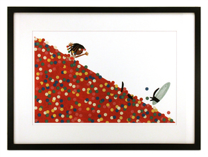 Ball Pit PRINT (FRAMED), Christian Robinson