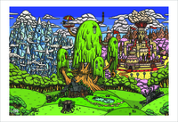 Kingdoms of Ooo (Print), Matthew Houston