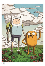 Finn and Jake (Print), Matthew Houston