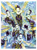 Queen Bee (print), Mindy Lee