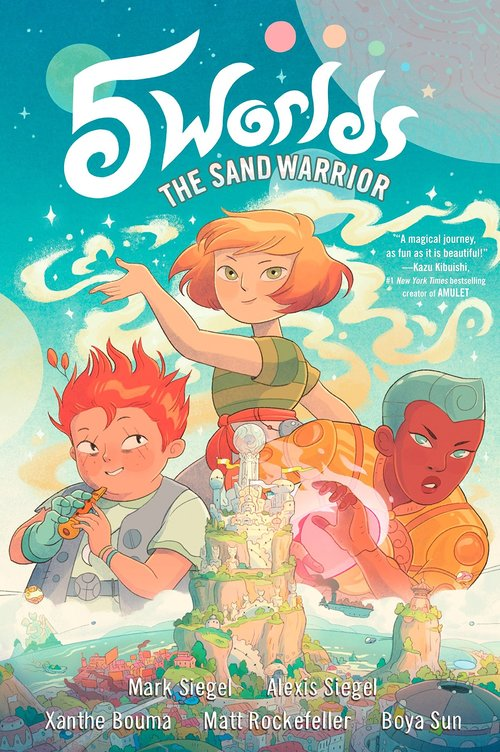 5 Worlds (Book 1): The Sand Warrior