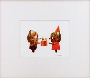 Birthday Bears (Matted Print), Chris Sasaki
