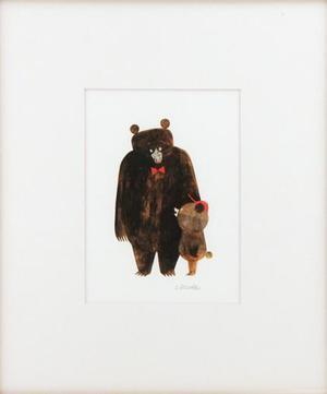 Father's Day (Matted Print), Chris Sasaki