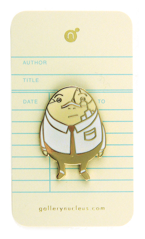 Dan Santat Humpty Dumpty After The Fall - Nucleus Enamel Pin, Dan Santat