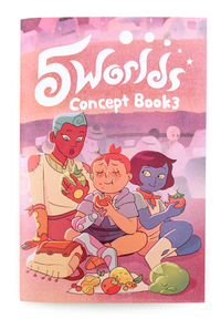 5 Worlds Concept Book 3