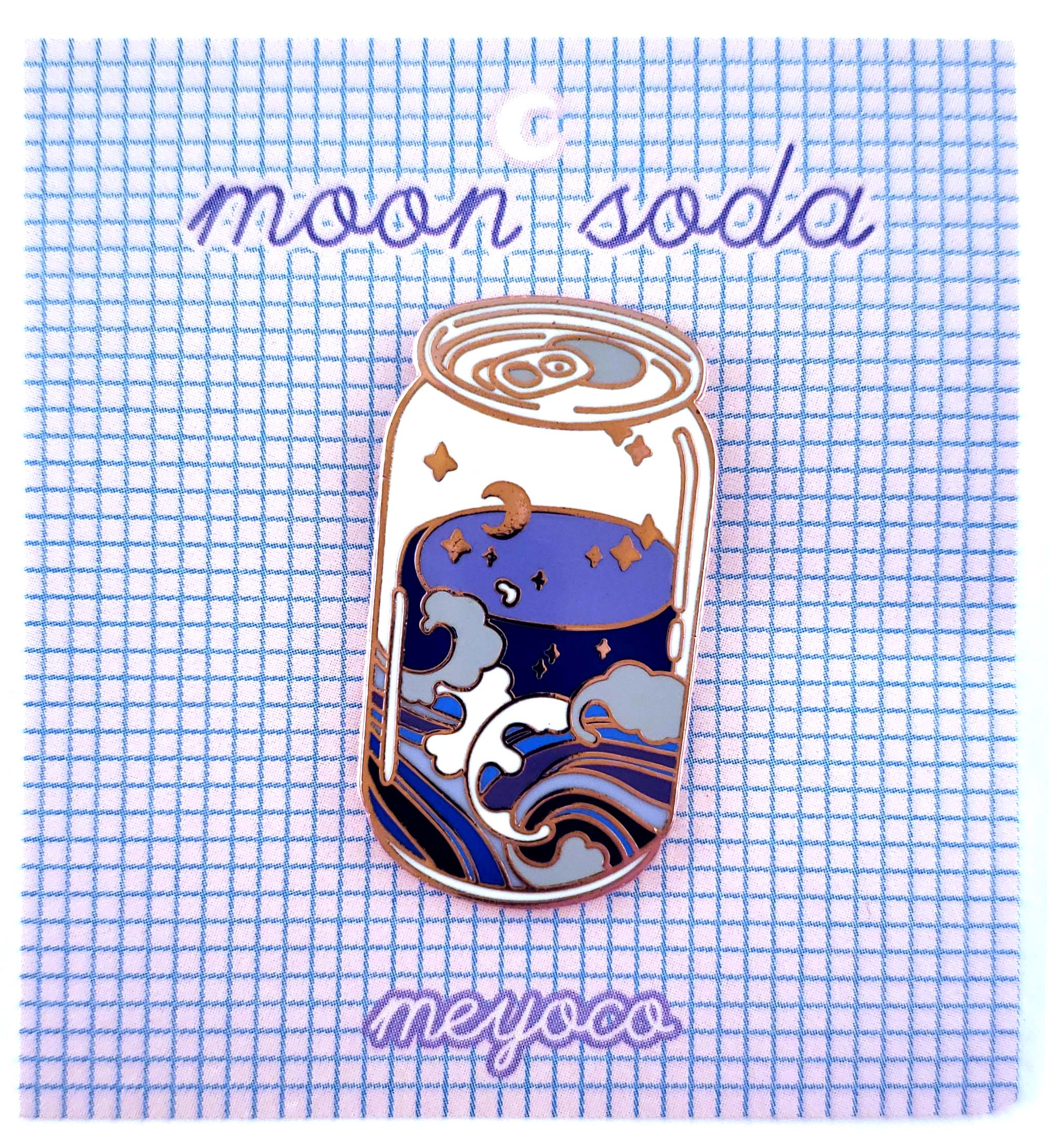 Moon Soda Pin - Meyoco, Meyoco