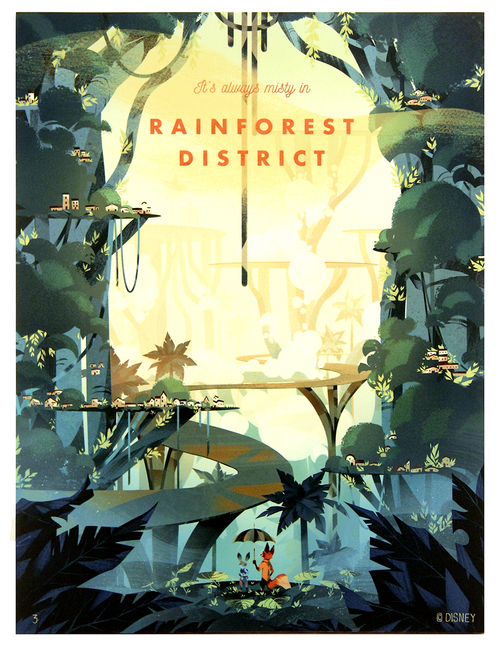 Rainforest District, Natalie Dombois