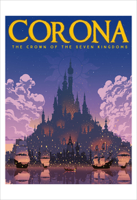 Corona (print), william mudron