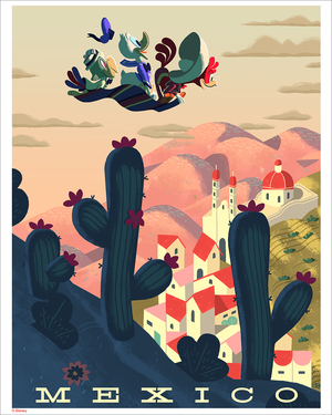Mexico (print), Glen Brogan