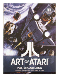 Art of Atari Poster Collection Book