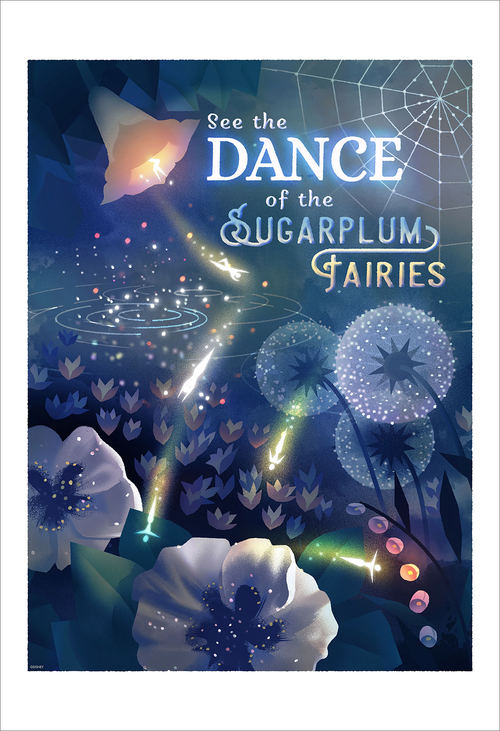 See the Dance of the Sugarplums (print), Jasmin Lai