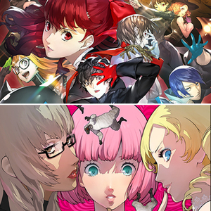 ATLUS Art Exhibit 2019: Persona 5 Royal & Catherine: Full Body Showcase featuring Shigenori Soejima