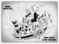 CYCLOPS PRINTWORKS: Ride with Us on the SS Willie (print), Ameorry Luo