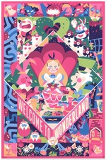 CLYCLOPS PRINT WORKS: Welcome to Wonderland (print), Doki Rosi