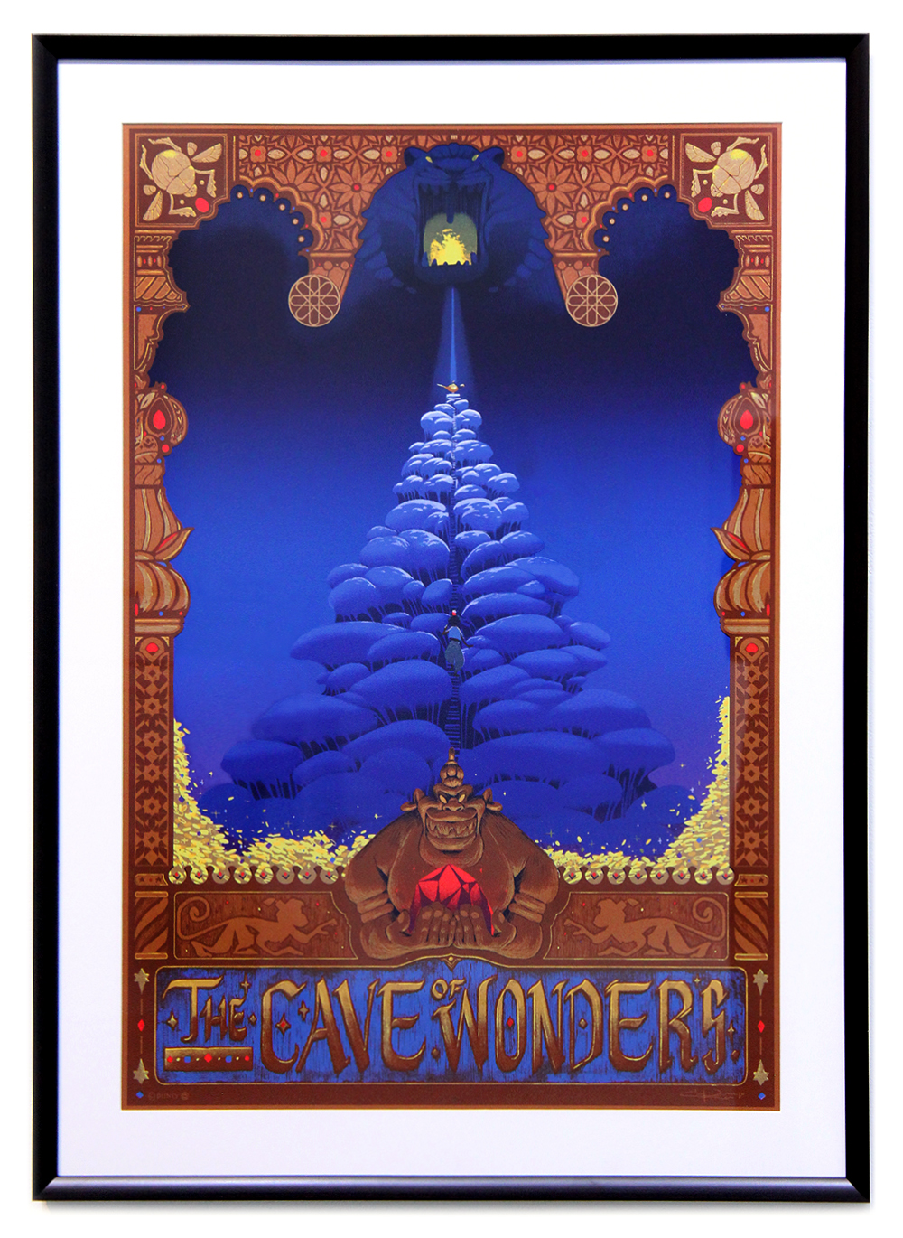 CYCLOPS PRINT WORKS: THE CAVE OF WONDERS (FRAMED PP #1), Grace Kum