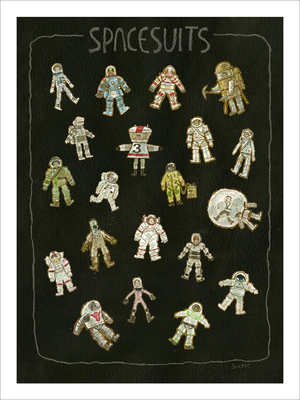 Space Suits (print), scott c