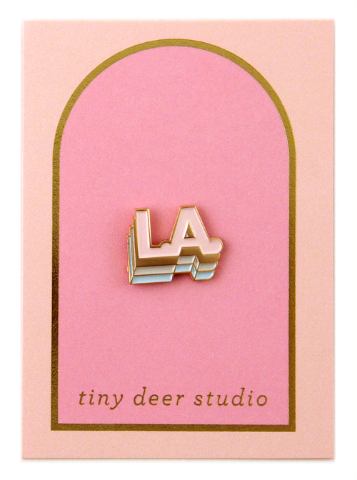 Los Angeles Pin - Tiny Deer Studio