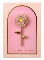 Spinning Flower Pin - Tiny Deer Studio