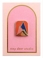Mountains Enamel Pin - Tiny Deer Studio