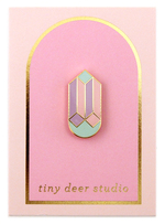 Drop Cube Pin - Tiny Deer Studio