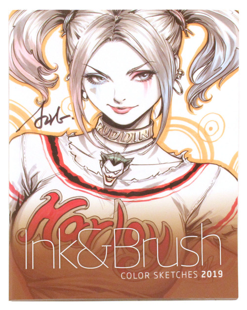 Ink & Brush: Color Sketches 2019, Stanley Artgerm Lau