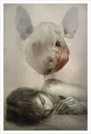 Lord of the Flies (print), Sam Weber
