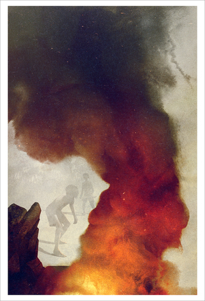 The Signal Fire (print), Sam Weber