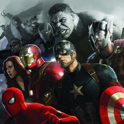 The Concept Art of the Marvel Cinematic Universe