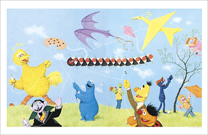 Fly a Kite - Love the Fur You're In (print), Harry McNaught