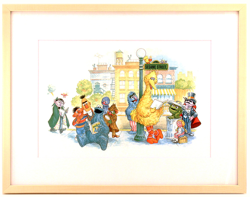 You're Never too Old for Story Time- Love the Fur You're In (Framed Print), Joe Mathieu