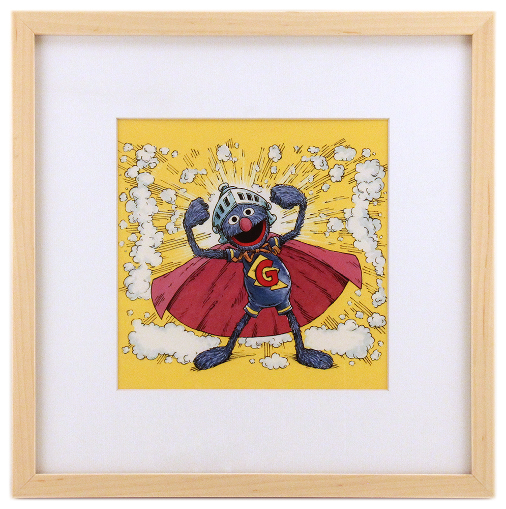 Be Someone's Super Grover - Love the Fur You're In (Framed Print), Joe Mathieu