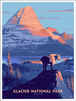 Glacier National Park (The Fifty-Nine Parks Print Series), Laurent  Durieux