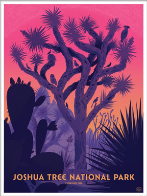 Joshua Tree  National Park (The Fifty-Nine Parks Print Series), The Little Friends of Printmaking