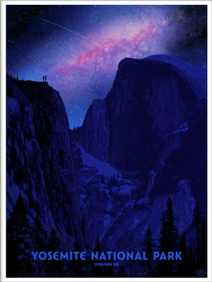Yosemite National Park (The Fifty-Nine Parks Print Series), Dan  McCarthy