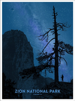 Zion National Park (The Fifty-Nine Parks Print Series), Dan  McCarthy