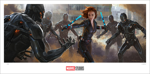 (Avengers: Age of Ultron) Black Widow Keyframe (print), Andy Park